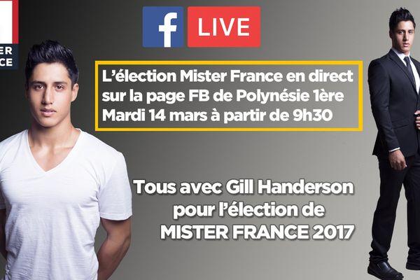 L'élection de Mister France en direct sur Polynésie 1ère !