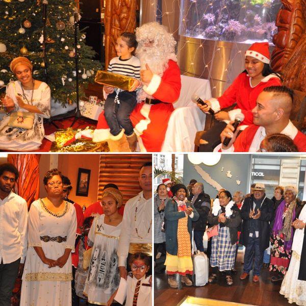 Point d'orgue des activités organisées par le service: le père Noël de la MNC