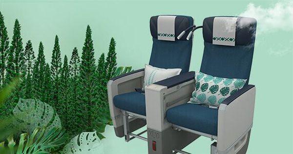 Nouveaux Airbus A 330 neo d'Aircalin, visuel des sièges en Premium economy.