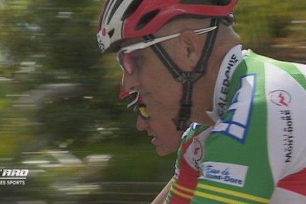 Rencontre cycliste Nouvelle-Calédonie
