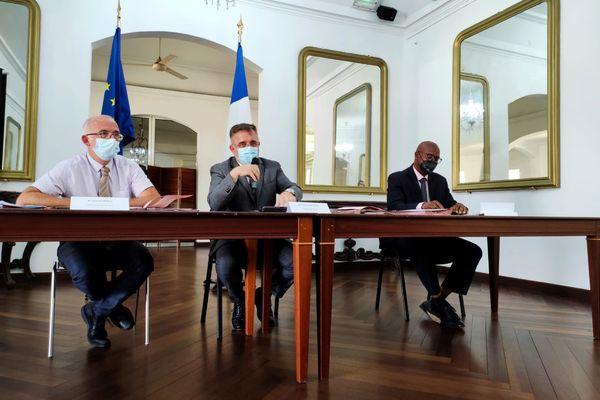 Signature du plan prévention de la délinquance à la préfecture