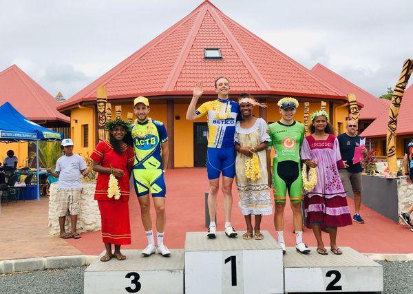 Tour Air France Lifou podium étape 2