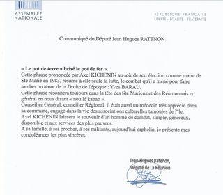 20170810 Réaction JH Ratenon
