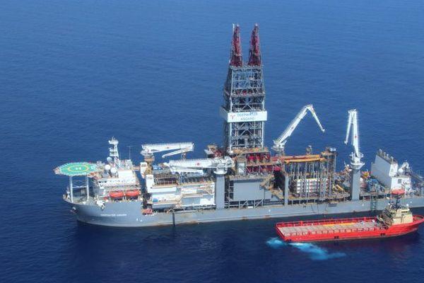 Le navire Deepwater Asgard de la compagnie Transocean