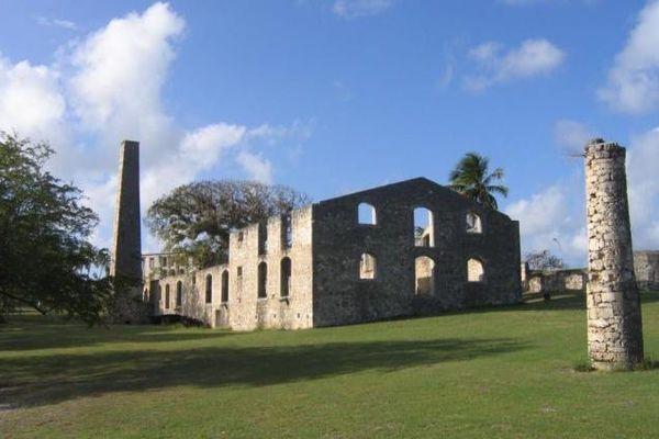 Vestiges de l'ancienne usine sucrière de l'habitation Murat