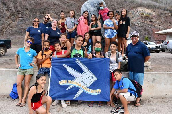 Ua Pour : les élèves à la découverte des aires marines éducatives