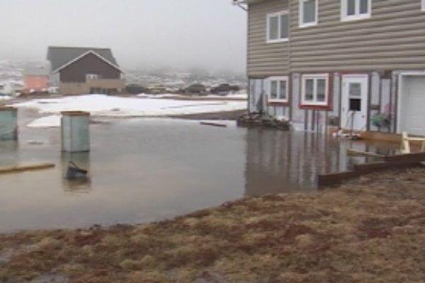 Inondations à Miquelon