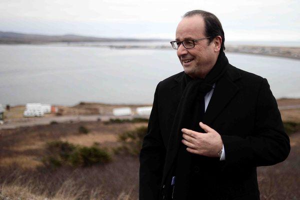François Hollande, premier président à se rendre à Miquelon