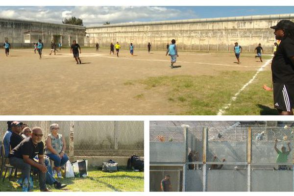 Tournoi de football au Camp Est, 14 septembre 2018