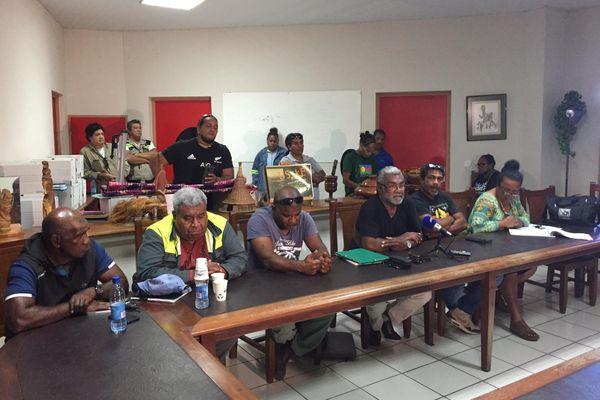 Dossier usine du Sud : conférence de presse de l'USTKE à Nouméa, le 2 décembre 2020