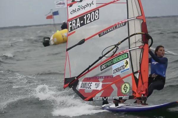 Lilou Granier RR D120 championnats de France à Quiberon août 2017