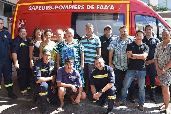 nouvelle ambulance pompiers faa'a