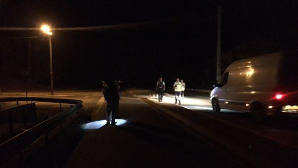 Saint Louis route bloquée