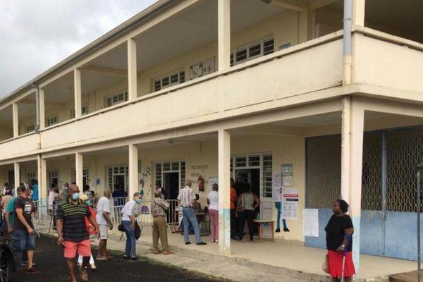 Bureau de vote à Saint-Joseph