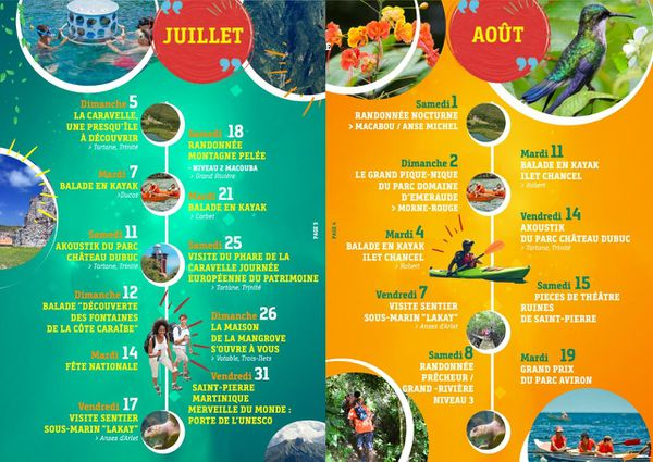 Programme Festival Martinique Merveille du Monde