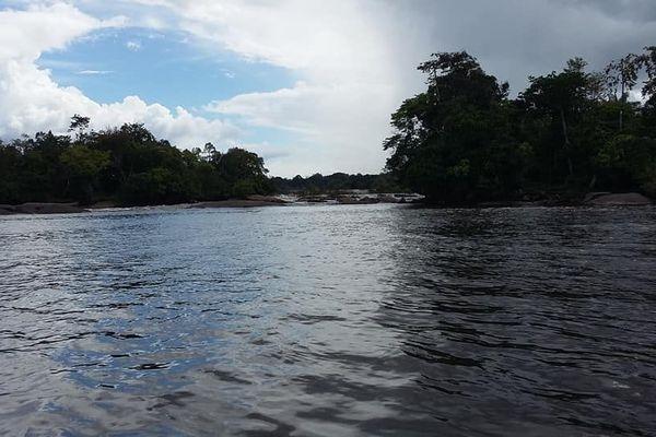 Saut Maripa du fleuve Oyapock