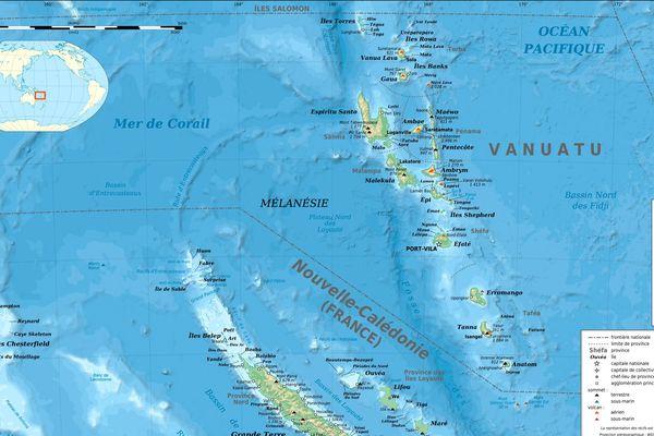 Vanuatu/Nelle Calédonie