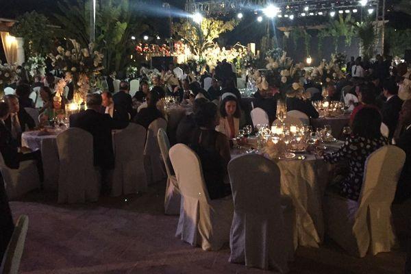 Le repas offert aux délégations venues pour l'investiture du nouveau président de Haïti, Jovenel Moïse