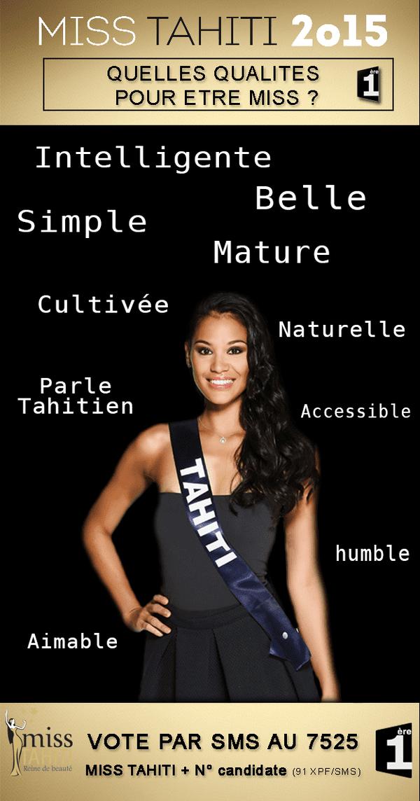 Top 10 des qualités pour devenir Miss Tahiti
