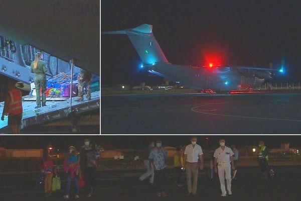 Les 20 pascuans sont rentrés chez eux, 7 résidents tahitiens sont revenus