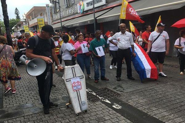 Manifestation contre la réforme des retraites 060220