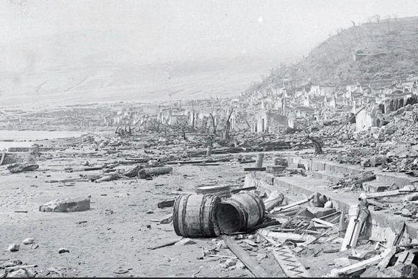 Archives Saint-Pierre / catastrophe Pelée