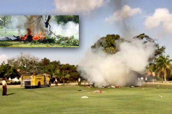 Accident d'avion R Dominicaine