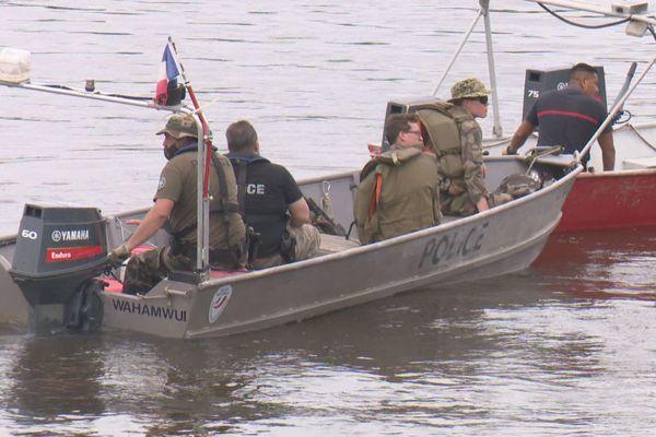Patrouilles sur l'Oyapock