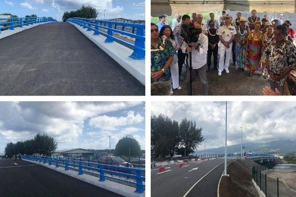 nouveau pont Motu Uta