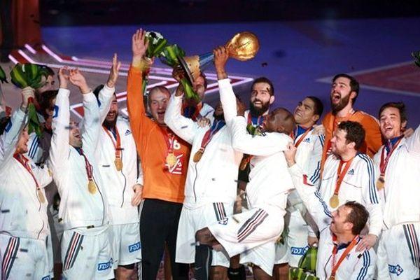 Bleus handball champions du monde