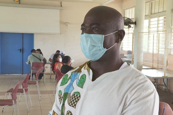 Le délégué du ministre de la santé Surinamais