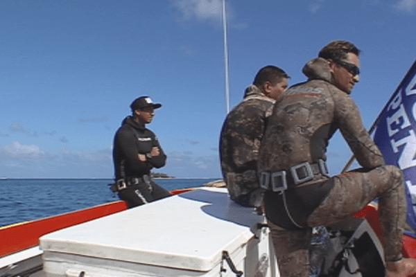pêche sous marine Bora