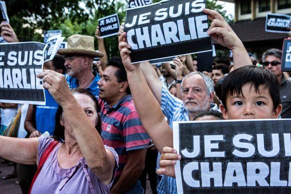 Tous Charlie, jusqu'en Polynésie française