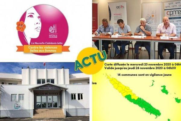 Actu à la 1. 25 novembre 2020