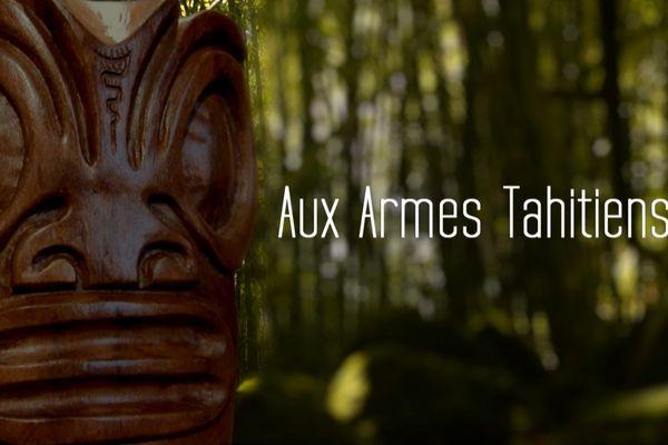 Aux armes tahitiens, un film réalisé par Jacques Navarro. Co-produit par Bleu Lagon - Polynésie 1ère