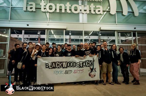 Festival Blackwoodstock 2018: l'arrivée.