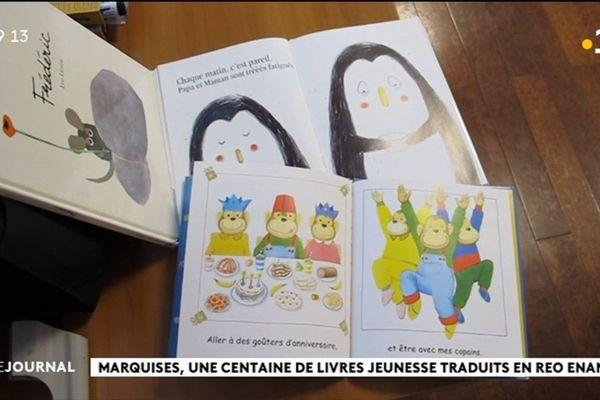 Une centaine de livres jeunesse bientôt traduits en marquisien