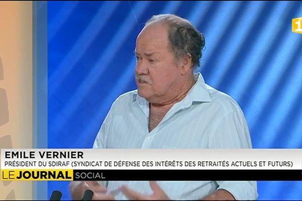 Invité du journal : Emile Vernier Président du Sdiraf