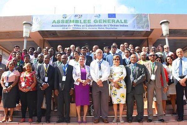 Assemblée générale des maires des villes de l'océan Indien octobre 2019