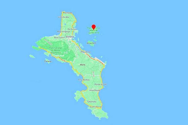 Ile de Sainte-Anne et de Mahé aux Seychelles