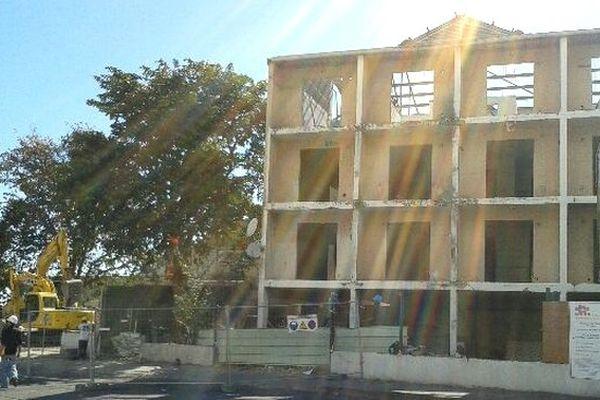 Saint-Denis : destruction immeuble Hassanaly