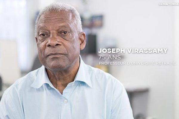 Joseph Virassamy, sénatoriales 2017
