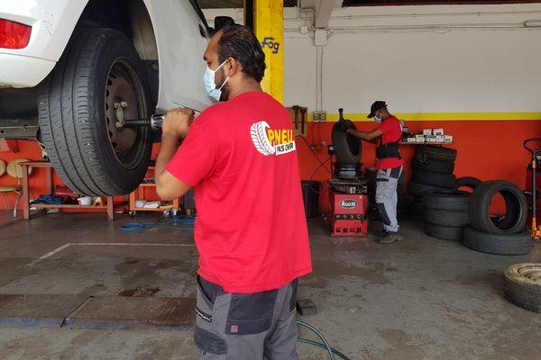 Kévin revendeur de pneu
