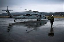 Hélicoptère de combat américain Sikorski Seahawk