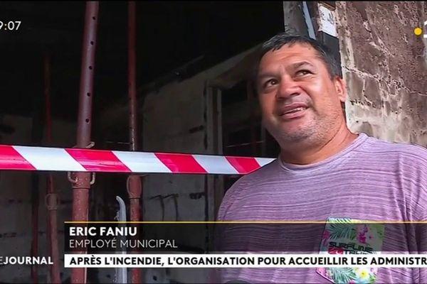 Incendie de la mairie de Fare : les services s'organisent