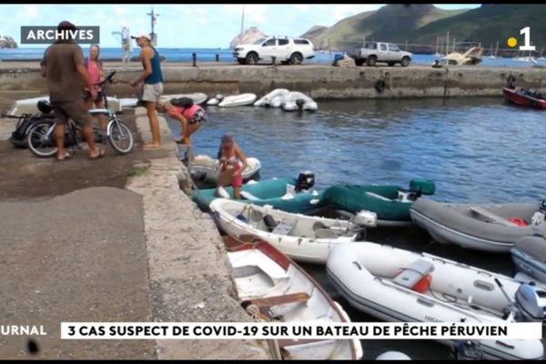 Trois marins suspectés d'être porteurs du covid évasanés des Marquises à Tahiti