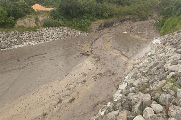 Coulée de boue