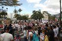 Saint-Denis : manifestation contre le pass sanitaire pour les 12-17 ans