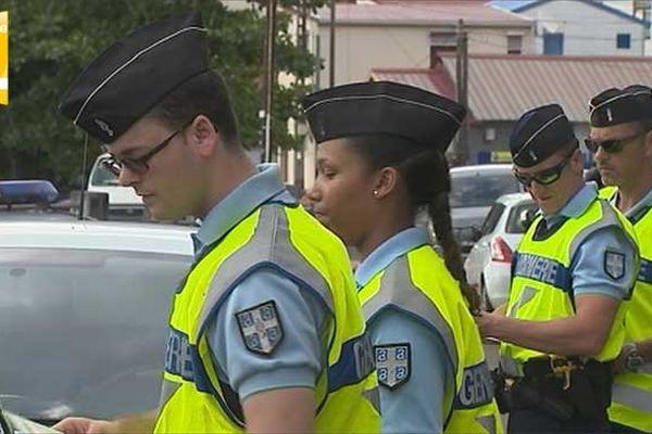 contrôles routiers : Gendarmerie