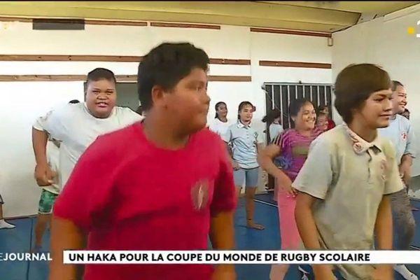 Le collège de Mahina se prépare pour le festival scolaire de rugby